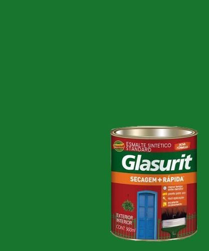 Tinta Esmalte Sintético Brilhante Verde Floresta Glasurit 900ml