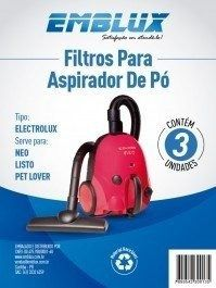 03 Un Filtro Aspirador De Pó Electrolux Neo Listo Pet Lover