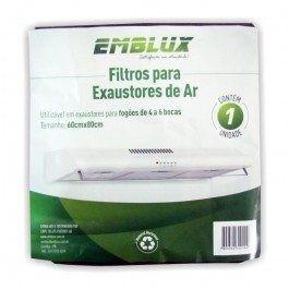 Filtro Exaustor Suggar Depurador De Ar 60x80cm Fogao 4/6boca