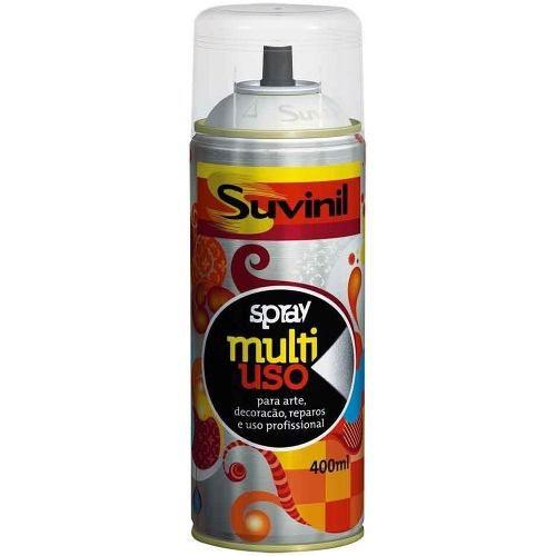 Tinta Spray Multiuso Branco Brilhante 400ml Suvinil