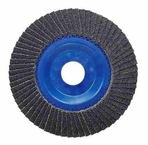 Disco Flap 4 1/2 Blue Metal Gr 120 Bosh