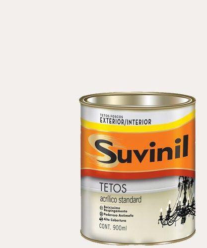 Tinta Acrílica Fosca Antimofo Teto Branco Suvinil 900ml