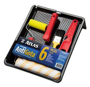 Kit Pintura 6pçs Atlas