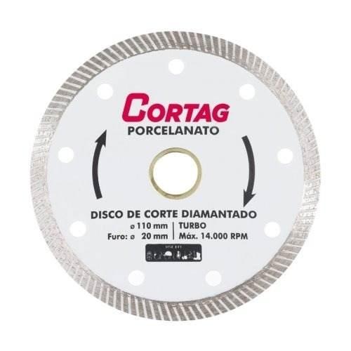 Disco Diamantado Porcelanato Cortag
