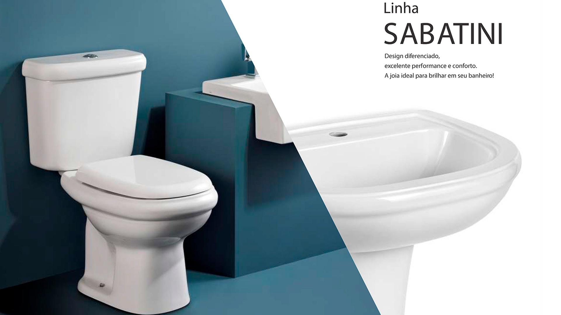 Bacia para Caixa Acoplada SABATINI BRANCA ICASA - IP51