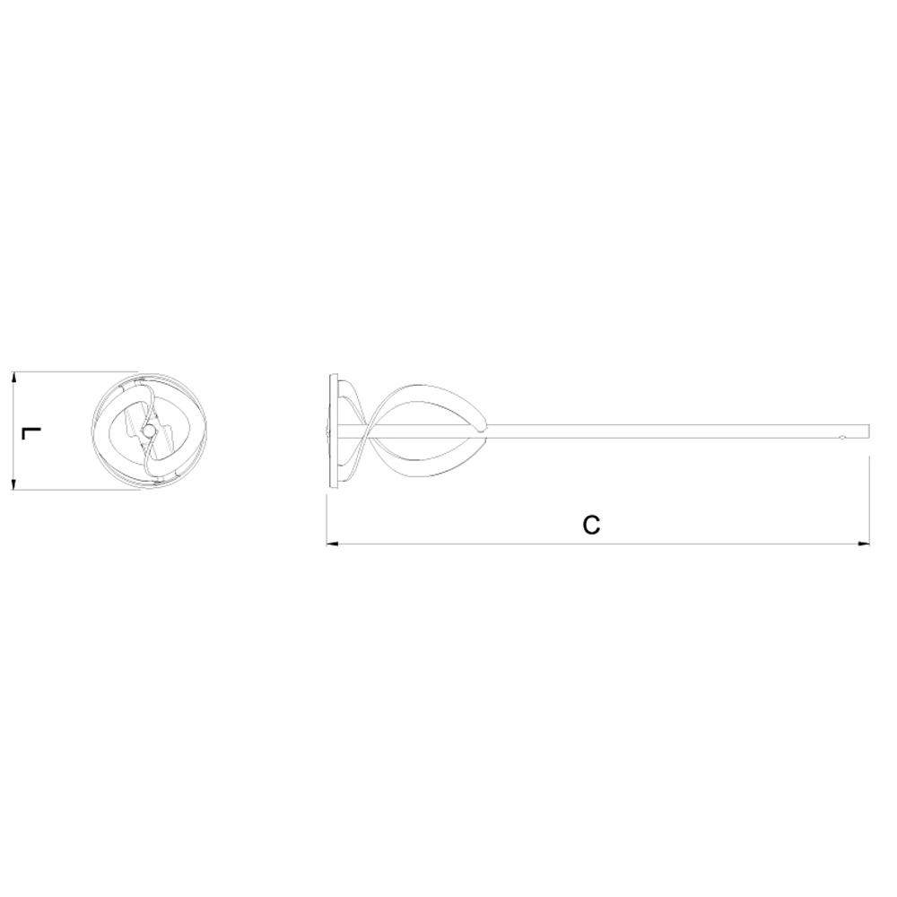 Batedor de Argamassa 60 cm CORTAG
