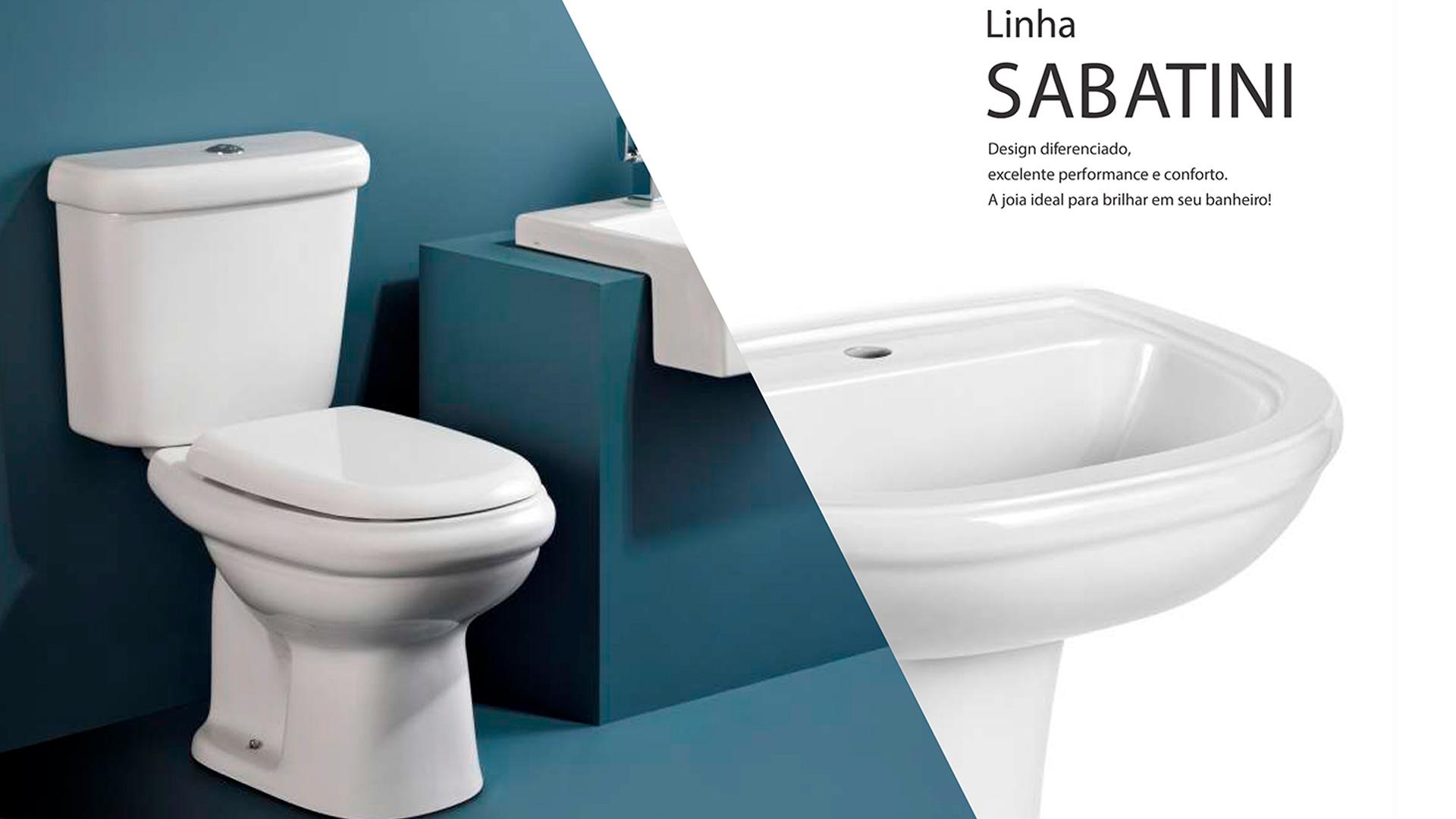 Caixa para Bacia Acoplada SABATINI 3/6 Lts ICASA PRETO - IC54