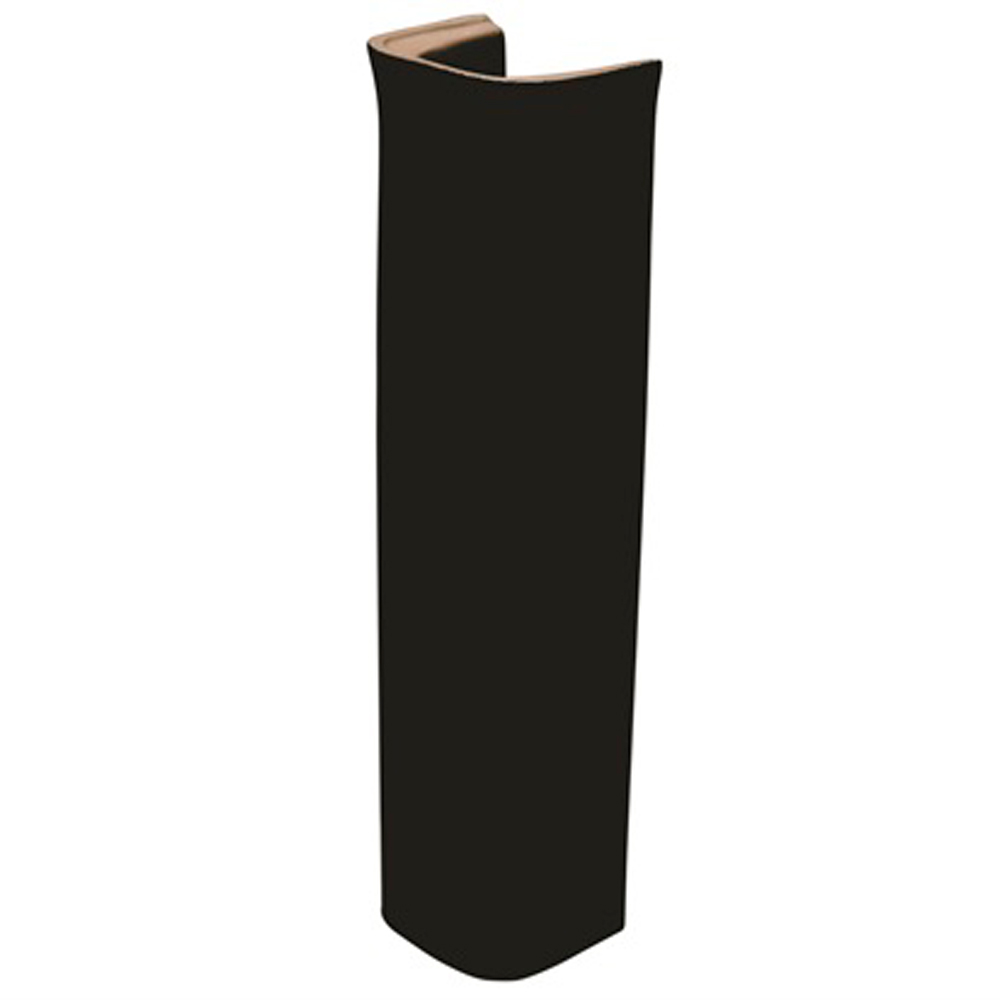 Coluna para Lavatório Preto SABATINI