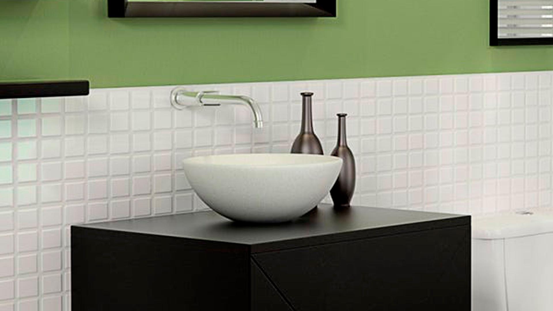 Cuba de Apoio para Banheiro 38x13 cm CAIRO ETERNIT