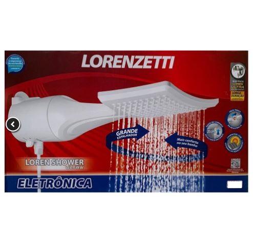 Ducha Loren Shower Ultra Eletrônica Lorenzetti 220v/7500w