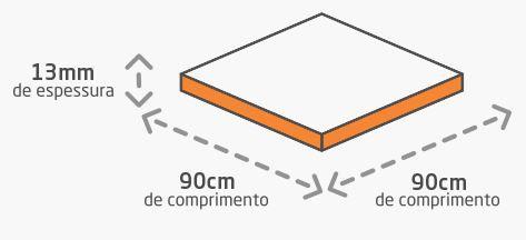 Espaçador Para Nivelamento 1,0mm Nivela Piso Fit Moldimplas