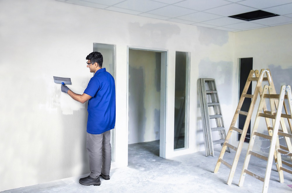 Espátula T Massa Gesso e Drywall INOX 30CM TIGRE
