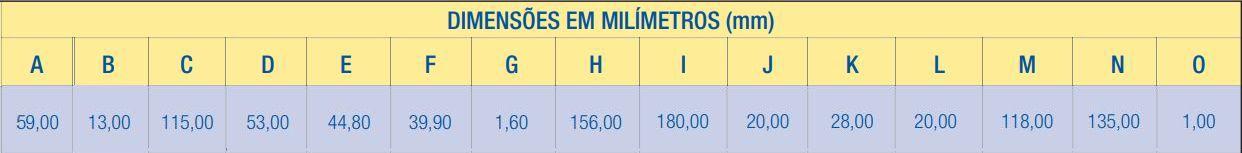 Fechadura Externa Inox Premium 2600/71 IP Aliança