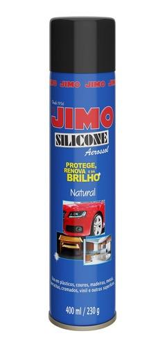 Jimo Silicone Spray Natural 400ml Uso Automotivo E Doméstico