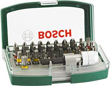 Jogo de Pontas Bits 32 peças - Bosch