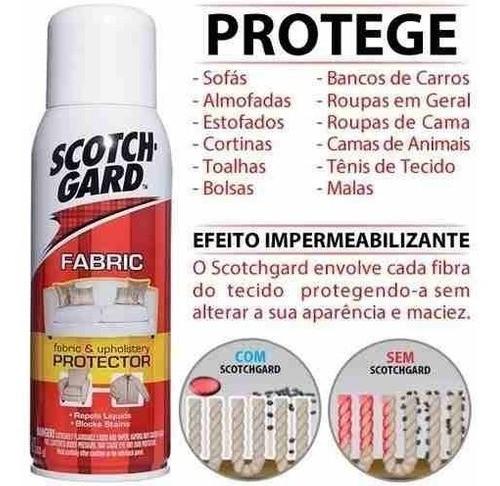 Kit 02 Scotchgard 3m Impermeabilizante De Tecidos Spray