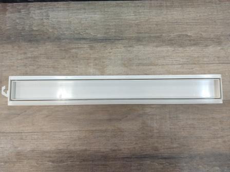 **Kit 04 Ralo Linear Invisível 50cm Tigre Banheiros Sacada