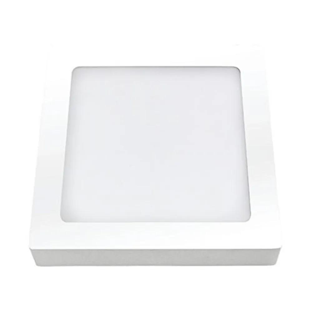 KIT 05 - PLAFON LED SOBREPOR 36W QUADRADO 6400K - BIVOLT