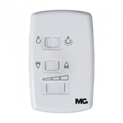 KIT 10 Controle P/ Ventilador De Teto C/ Lampada 127v C/ Capacitor