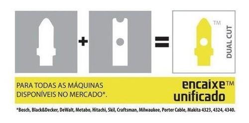 Kit 4 Serra Tico-tico 75mm/50mm Corte Mdf Starrett Bu2/bu3dc