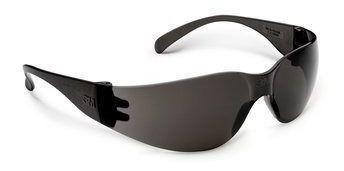 kit 5 Óculos De Proteção Segurança Virtua 3m Lente Fume Uv