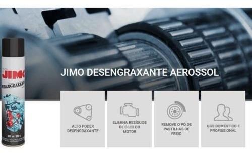 kit 6 Jimo Desengraxante Remove Óleo Graxa De Motor Carros Moto