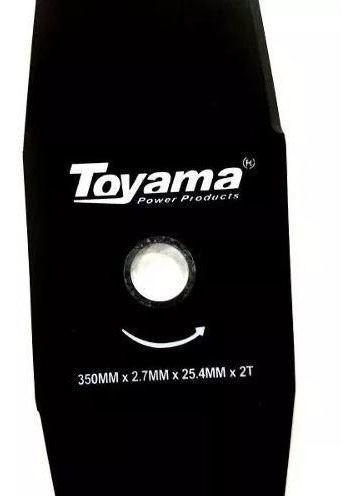 kit Carretel Nylon + Faca Roçadeira Gasolina Toyama Original