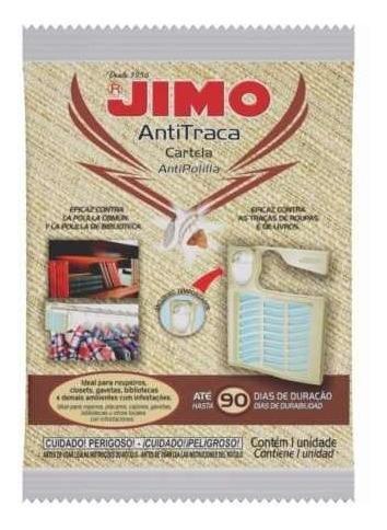 Kit Jimo Antitraça Aerossol 300ml + Anti Traça Cartela