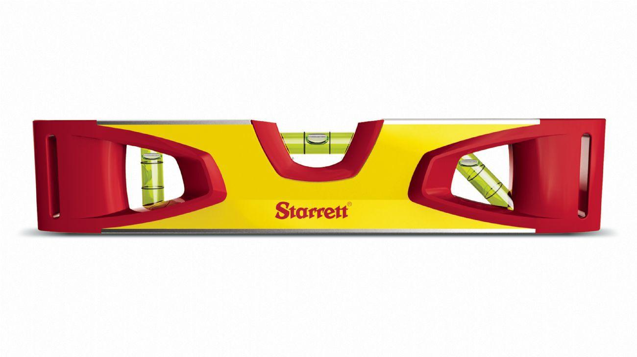 """Nível Alumínio Torpedo Starrett Base Magnética 9"""" 230mm"""