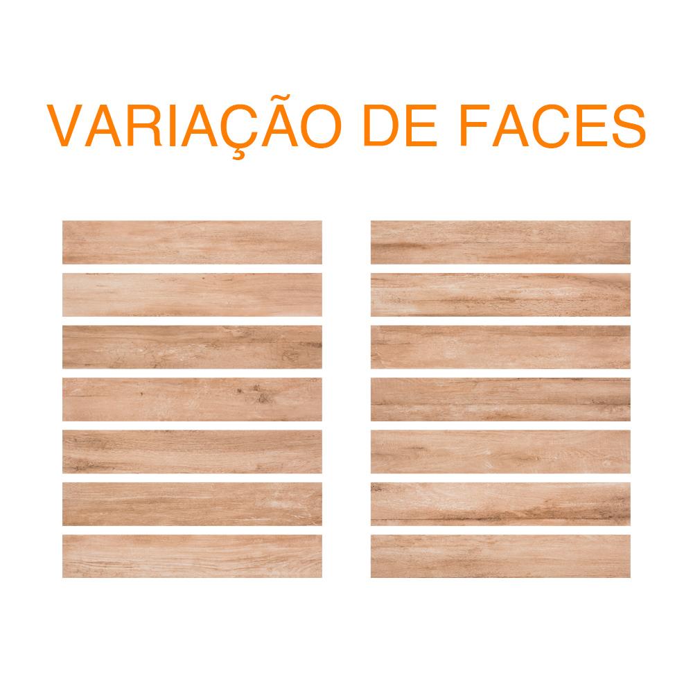 Porcelanato Eliane BOSCO MEL MA Retificado (A) 19,4x118,2