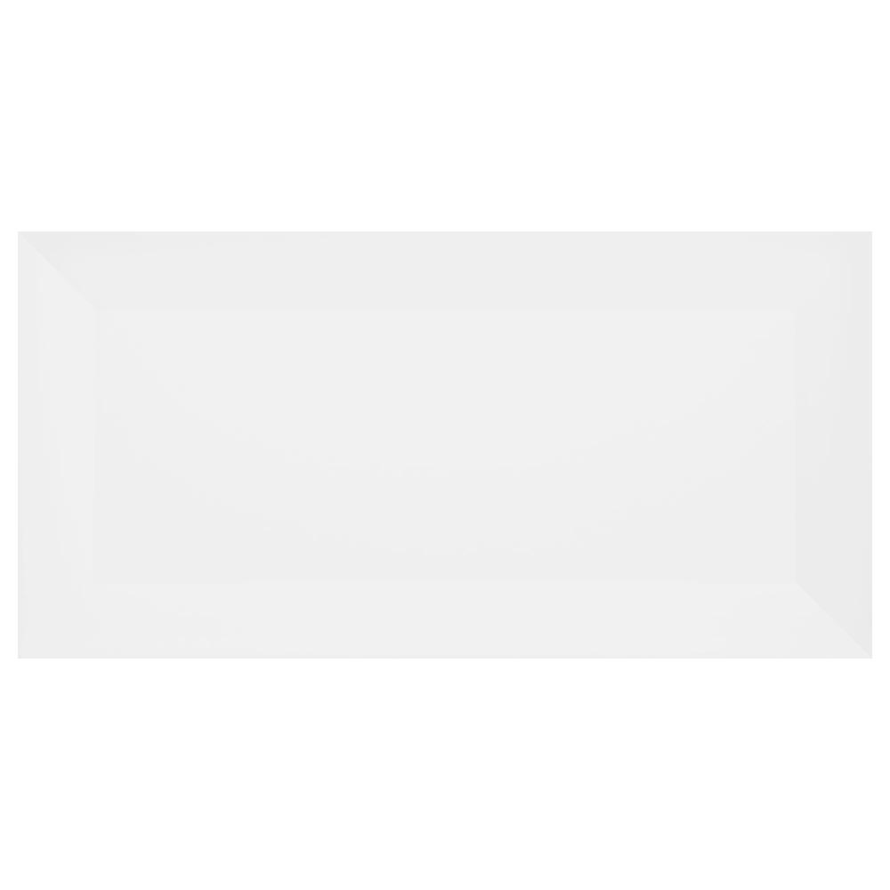 Porcelanato Eliane METRO WHITE (A) 10x20