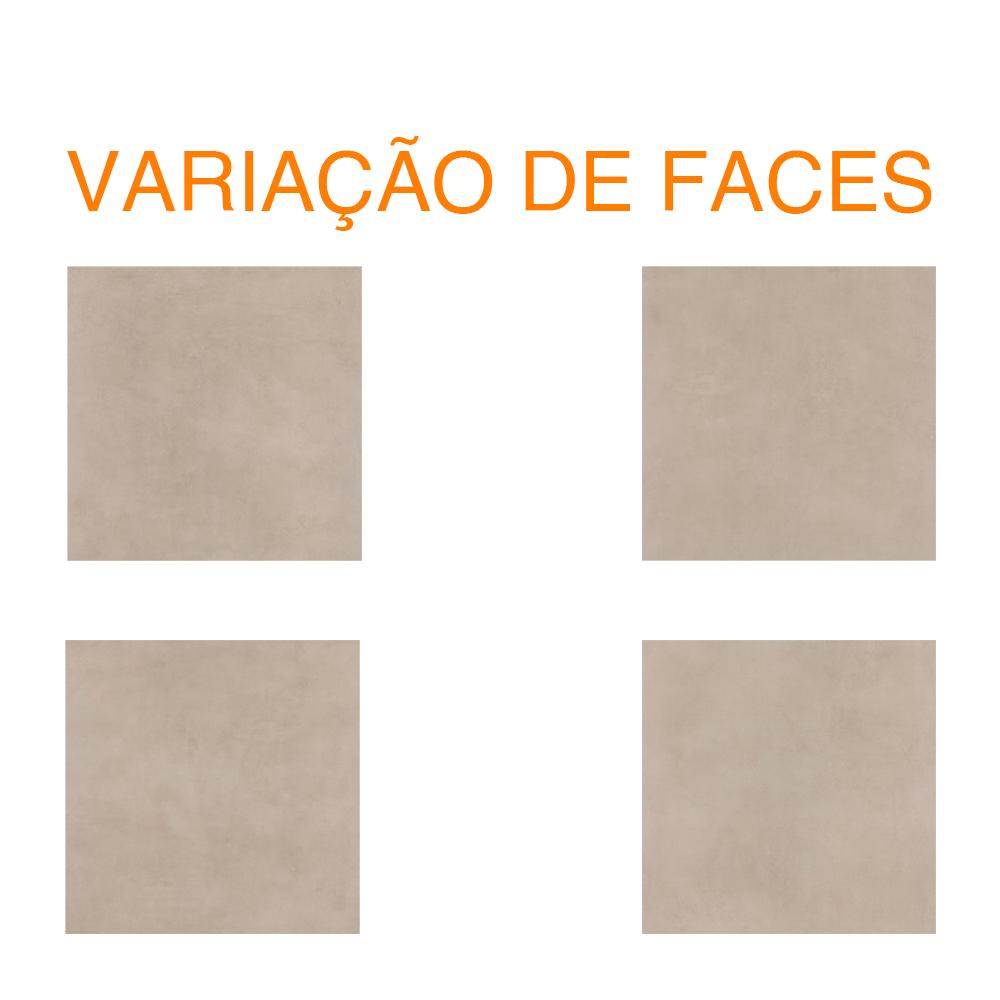 Porcelanato Eliane MUNARI CIMENTO Acetinado (A) 90x90