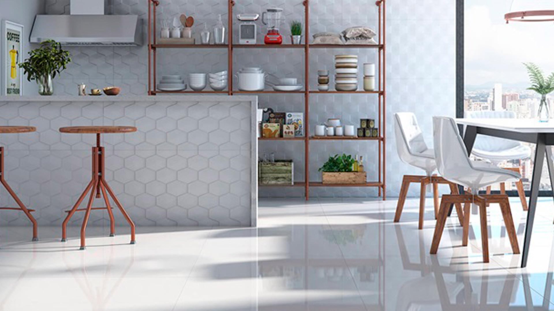 Porcelanato Elizabeth PURE WHITE Polido (A) 62,5x125