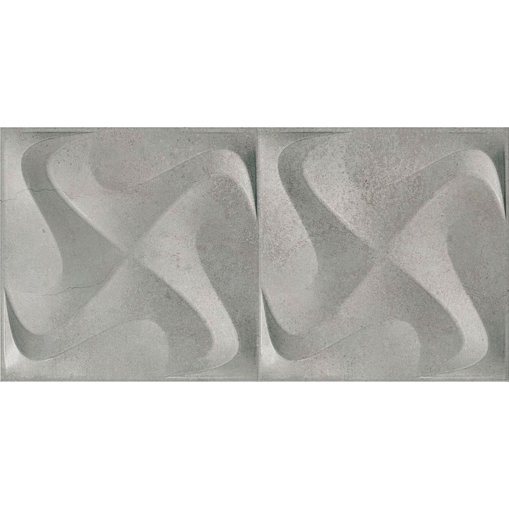 Porcelanato Incepa SEATTLE SPIN GRIS Acetinado (A) 30x60