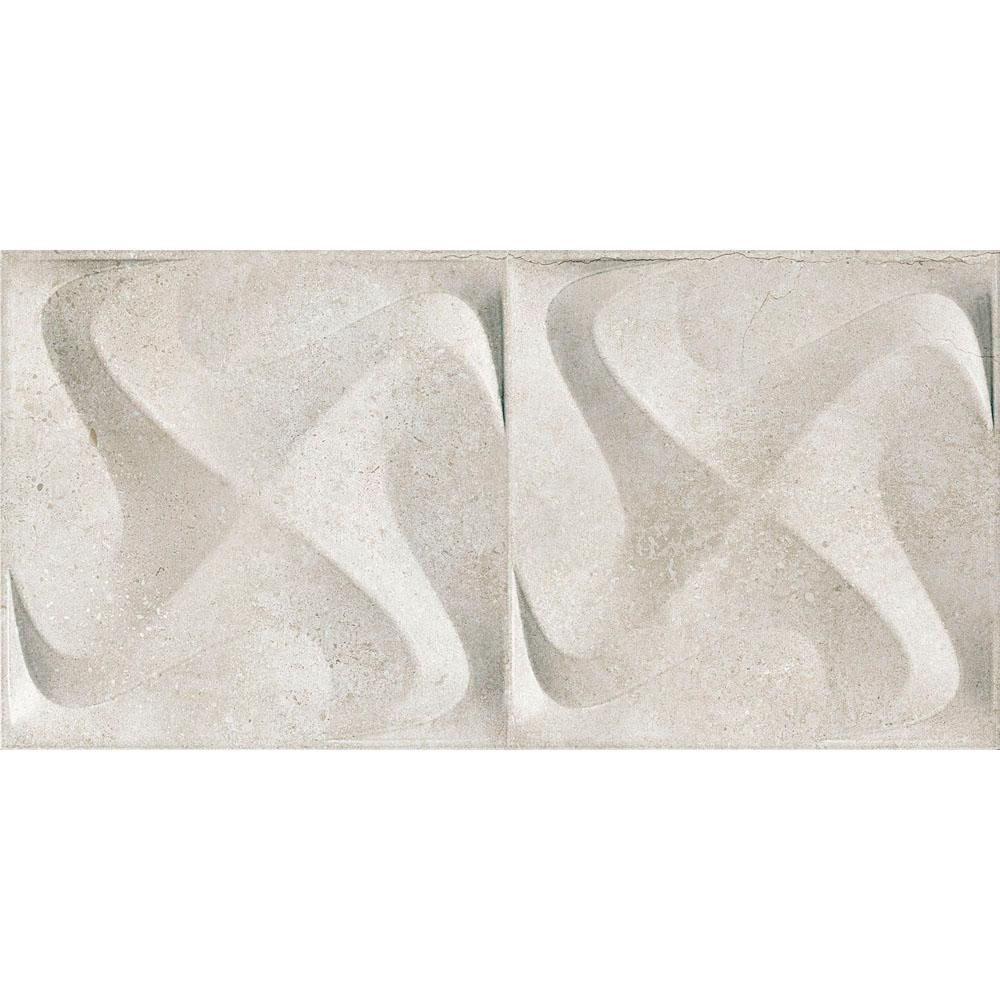 Porcelanato Incepa SEATTLE SPIN WHITE Acetinado (A) 30x60