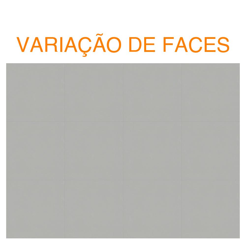 Porcelanato Delta Griggio Polido (A) Retificado 60x60