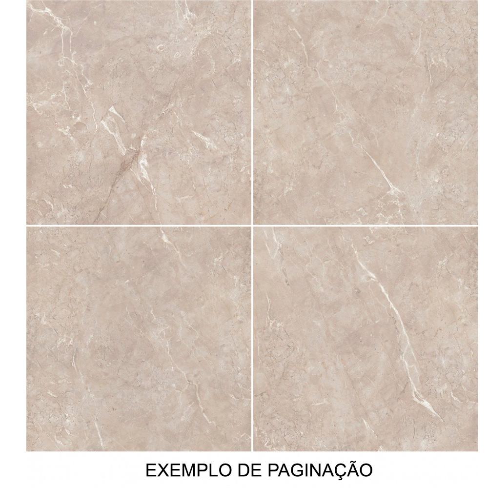 Porcelanato Via Rosa ARMANI CARAMEL Polido (A) Retificado 71x71
