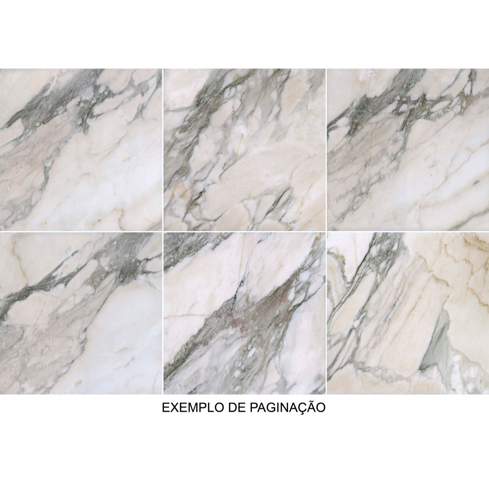 Porcelanato Via Rosa MACCHIATO Polido (A) Retificado 71x71