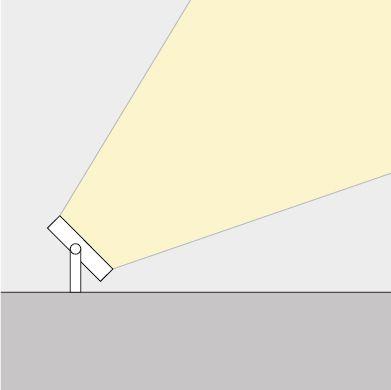 PROJETOR LED 50W -  LEDT27  ABALUX