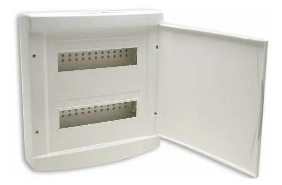 Quadro Distribuição Embutir 12/16 Disjuntores S/ Barramento Tigre