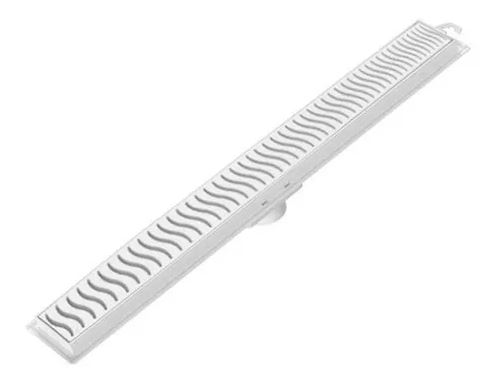 Ralo Linear 90Cm Grelha Branca Tigre