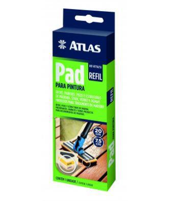 Refil Para Pad Pintura Madeiras e Decks AT750/90 Atlas