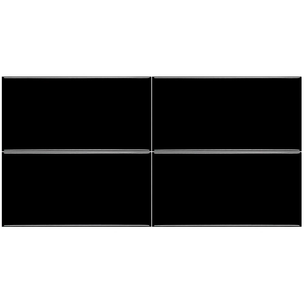Revestimento Eliane METRO BLACK (A) 10x20