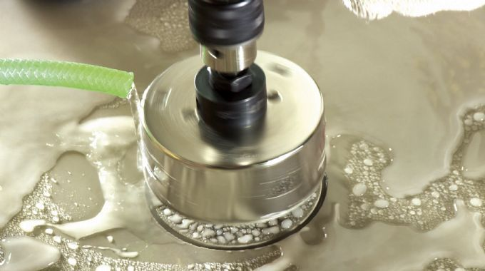 Serra Copo Diamantada 25mm Piso Granito Porcelanato Cortag
