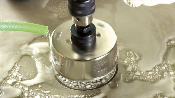 Serra Copo Diamantada 4mm Piso Granito Porcelanato Cortag
