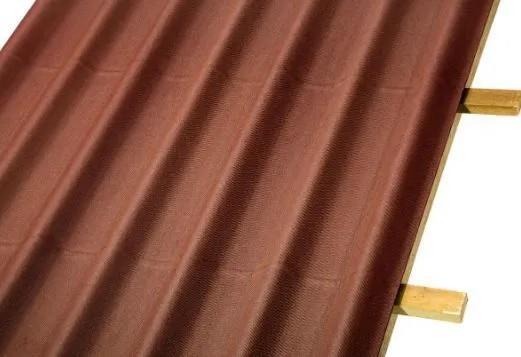 Telha Ecológica Onduline Stilo Vermelha 200 X 95 cm