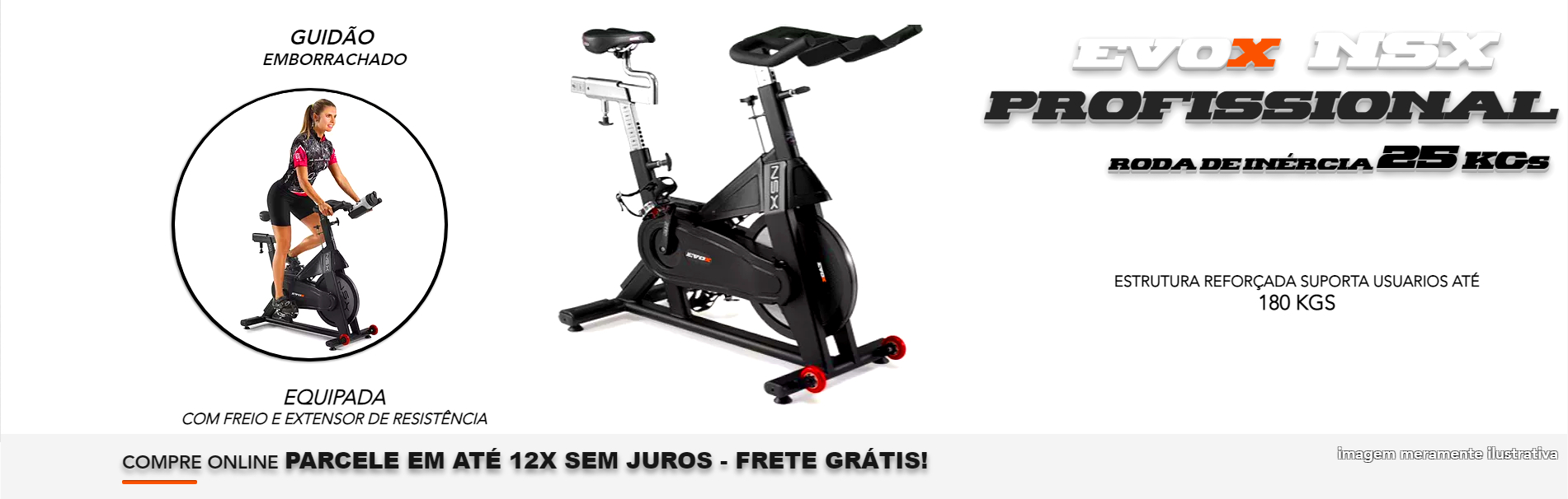 Bicicleta Spinning NSX