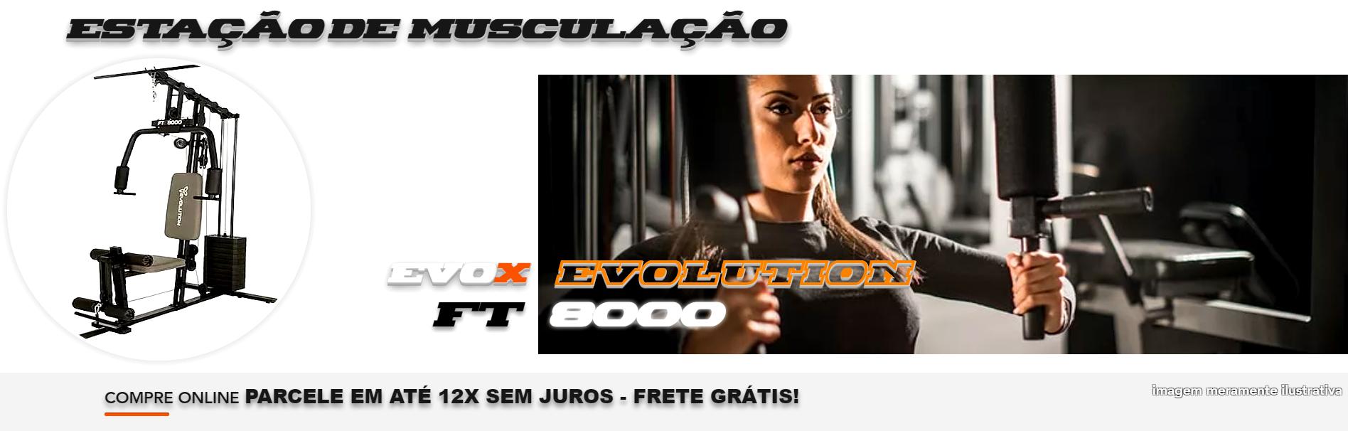 estação de musculação ft 8000