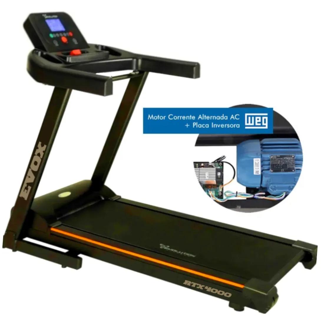 ESTEIRA ERGOMÉTRICA EVOX RTX 4000 PRO  - Evox Fitness Brasil