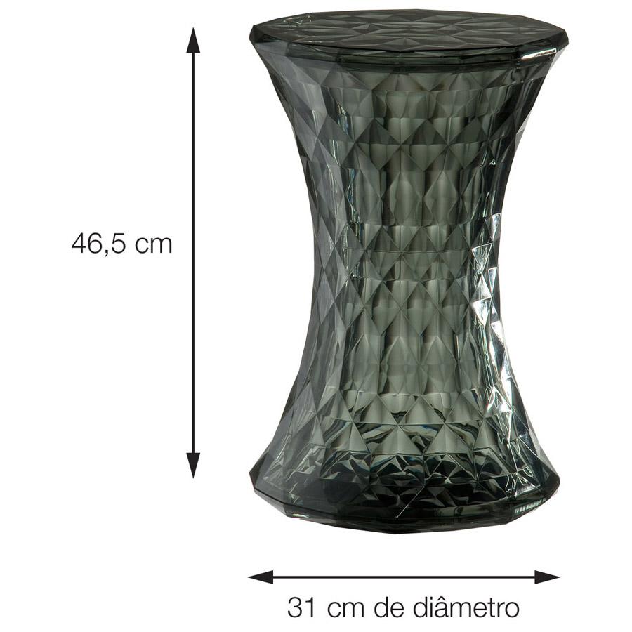 BANQUINHO DIAMOND PC AMARELO